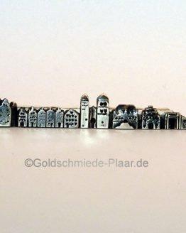 Krawatten-Nadel, Osnabrück,Silber