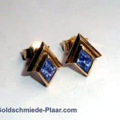 Ohrstecker Gold mit Tansanit