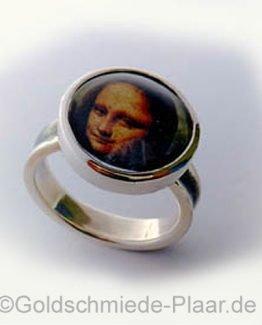 Ring mit Foto