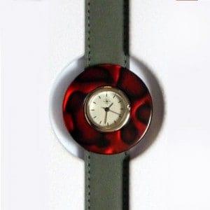 Uhrenset Deja Vu Rot Grau - Detail