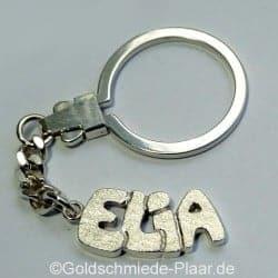 Schlüsselring mit Vornamen