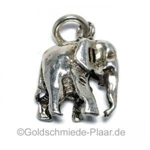 Elefant aus Silber
