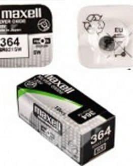 Maxell 364 Uhrenbatterie