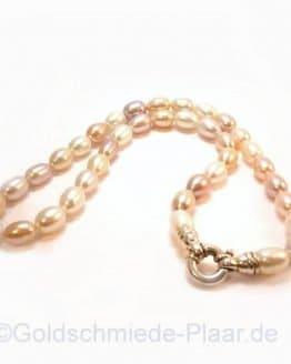 Multicolor Perlenkette mit Vorderschliesse