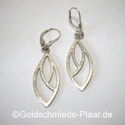 Filigrane Ohrhänger aus Silber