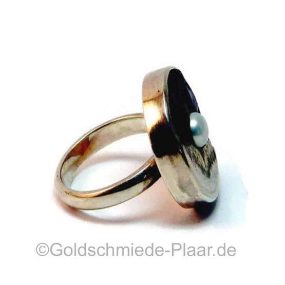 Silber-Ring mit Kokosnuss 3