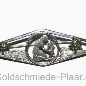 50 Pfennig-Nadel, Silber