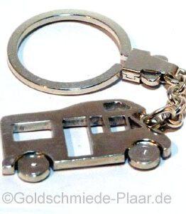 Schlüsselring Wohnmobil Sterling-Silber