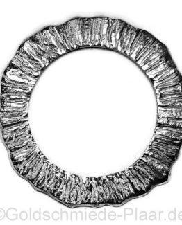 Zierscheibe aus Silber für Deja vu Armbanduhr