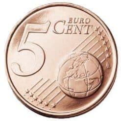 5 cent Münze