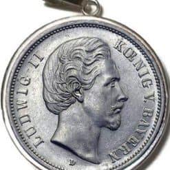 Ludwig II als Kettenanhänger
