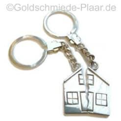 Schlüsselanhänger Haus für Zwei